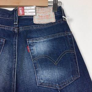 Levi s Jeans - NWT Levi s vintage 1950s 701 Pin Tuck crop jeans 15e7bdb06ed